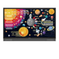 """BenQ RP7502 Interactive Flat Panel / 75""""/ 16:9/ 3840 X 2160/ 1200:1/ 6MS/ 20 Point Usb Multi Touch/ Vga, Hdmi, DP/ Speakers/ Android"""