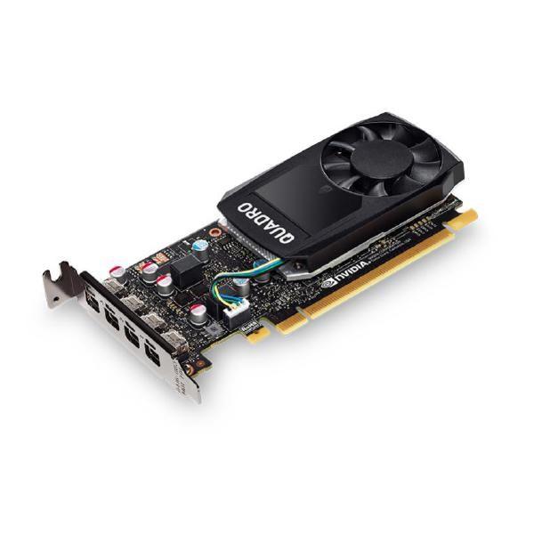 Leadtek Quadro P620 Work Station Graphics Card Pcie 2GB DDR5, 4H(mDP), Single Slot, 1X Fan, Low Profile