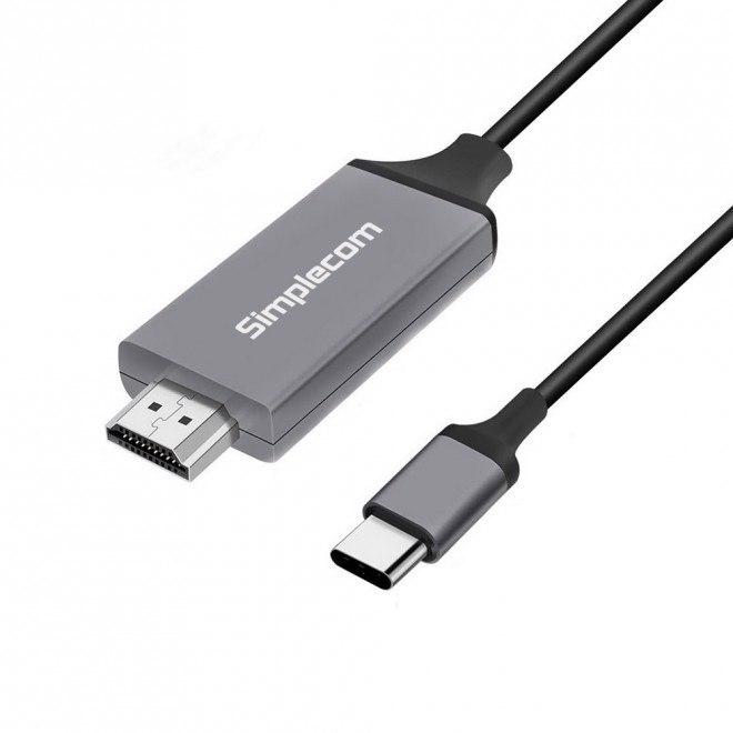 Simplecom Da311 Usb 3.1 Type C To Hdmi Cable 2M 4K@30Hz