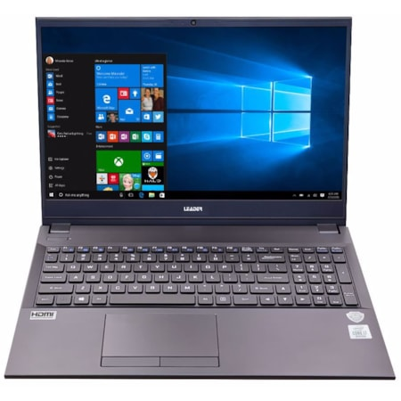 Leader Companion 511Pro Notebook, 15.6' Full HD, Intel I5-1035G1, 8GB, 500GB SSD, DVD, Windows 10 Pro, 2YR Warranty, TPM, Wi-Fi 6, Usb Type C, W10P