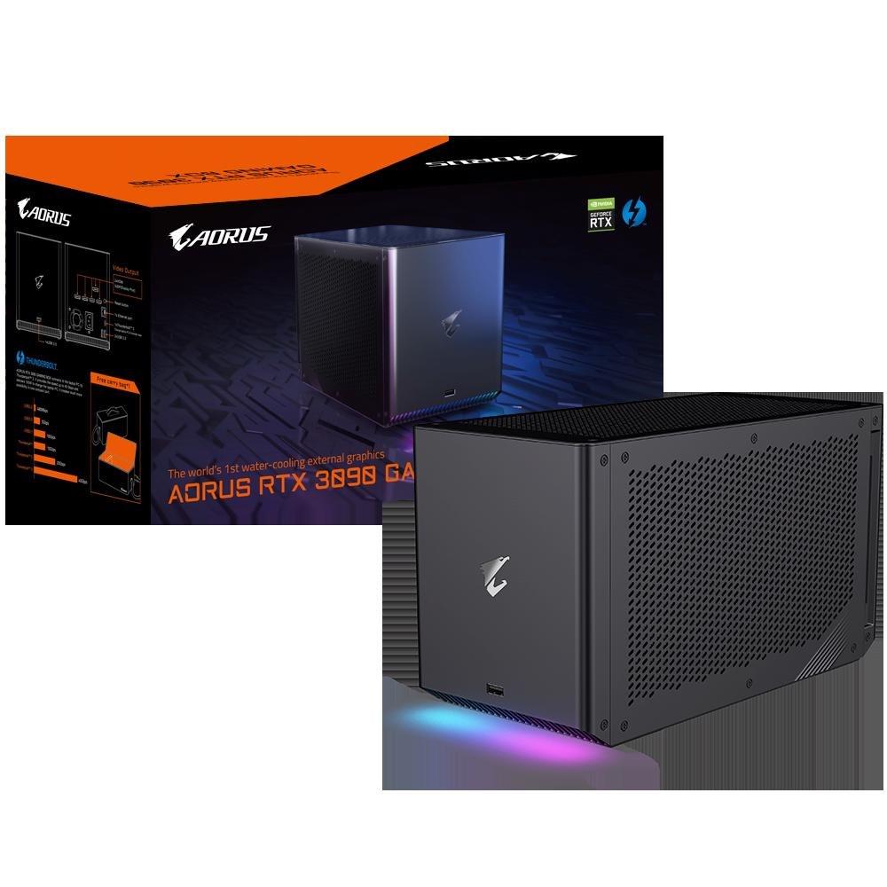 Gigabyte nVidia GeForce Aorus RTX 3090 Gaming Box Gv-N3090ixeb-24Gd