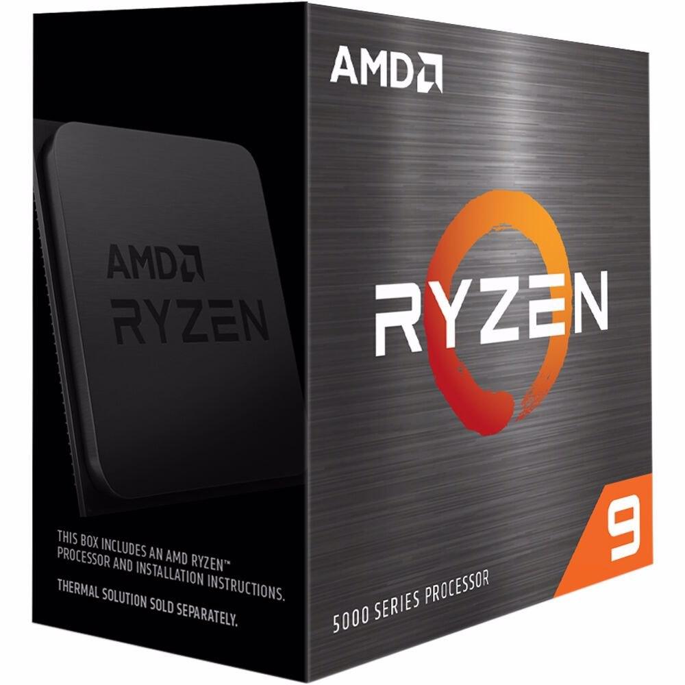 Amd Ryzen 9 5950X Zen 3 Cpu 16C/32T TDP 105W Boost Up To 4.9GHz Base 3.4GHz Total Cache 72MB No Cooler (Amdcpu) (Ryzen5000)