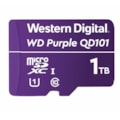 Western Digital WD Purple 1TB MicroSDXC Card 24/7 -25°C To 85°C Weather & Humidity Resistant For Surveillance Ip Cameras mDVRs NVR Dash Cams Drones