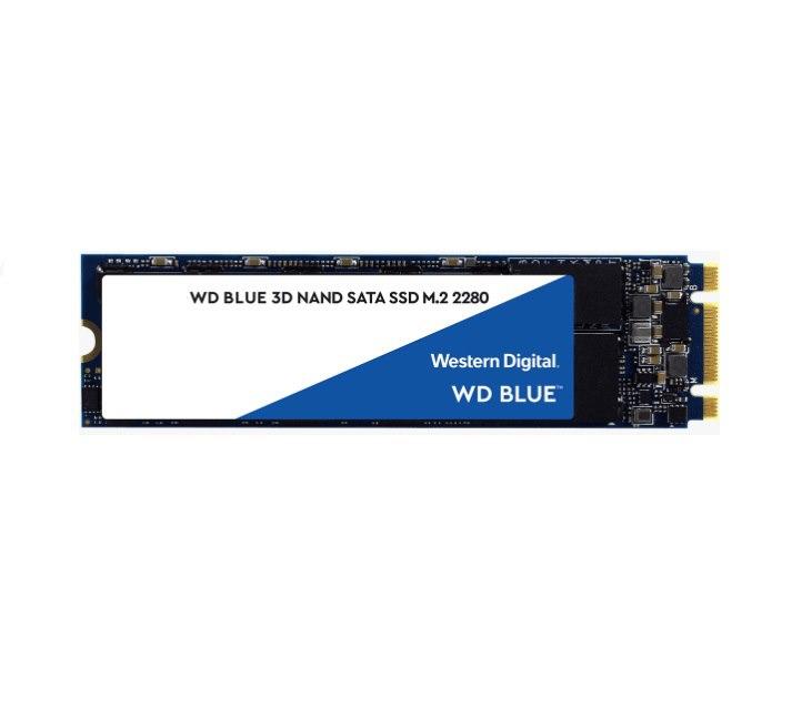 Western Digital WD Blue 500GB M.2 Sata SSD 560R/530W MB/s 95K/84K Iops 200TBW 1.75M HRS MTTF 3D Nand 7MM 5YRS WTY