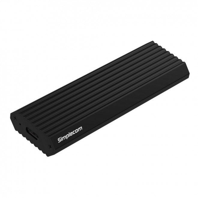 Simplecom Se513 NVMe PCIe (M Key) M.2 SSD To Usb 3.1 Gen 2 Type C Enclosure 10Gbps - Black