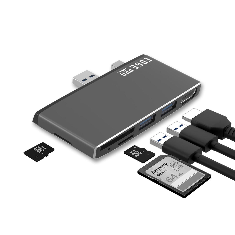Mbeat® Edge Pro P78 Multifunction Hub For Microsoft Surface Pro Gen 5 & Gen 6