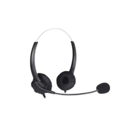 Shintaro Light Weight Headset With Microphone Plus Usb Audio Adapter With 3.5MM Headphone And Microphone Jack