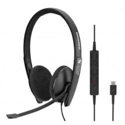 SENNHEISER SC 160 Wired binaural USB headset. Skype for Business certified and UC optimized