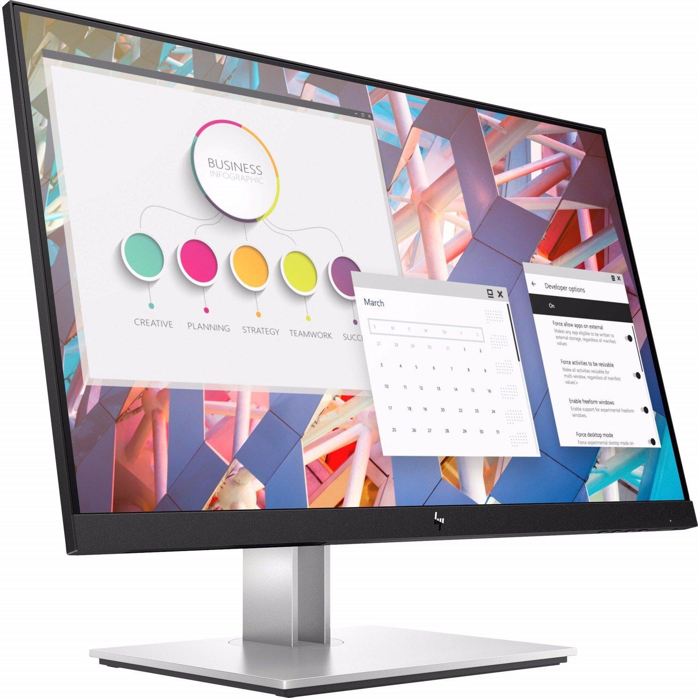 "PWC ONLY - HP E24 G4 60.5 cm (23.8"") Full HD LED LCD Monitor - 16:9 - Black"