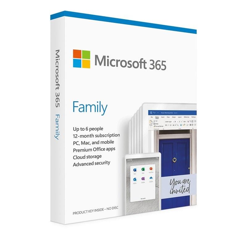 Microsoft 365 Family English Apac DM Sub