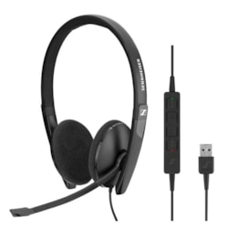 Sennheiser Wired binaural USB headset. Skype for Business certified and UC optimized.
