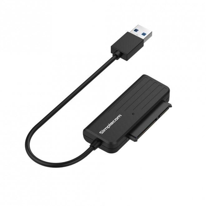 Simplecom Sa205 Compact Usb 3.0 To Sata Adapter Cable Converter For 2.5' SSD/HDD