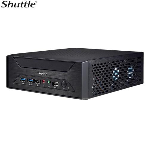 Shuttle XH410G 3-Liter Mini-PC Barebone - H410, Lga1200, 2X DDR4 Sodimm, 1X 2.5' Bay, 1X M.2 2280 Socket,1X PCIe X16, 1X Hdmi, 1X Vga