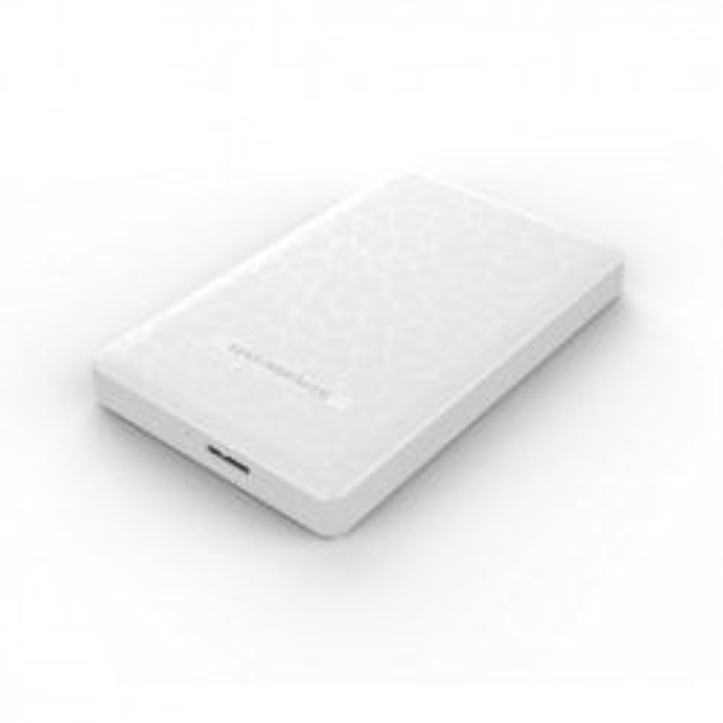 Simplecom Se101 Compact Tool-Free 2.5'' Sata To Usb 3.0 HDD/SSD Enclosure White