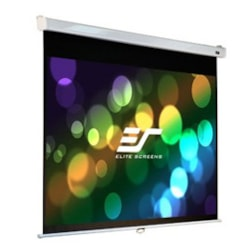 """Elite Screens 100"""" 16:10 Pull Down Screen Manual Srm Pro, Wall / Ceiling Mount - Slow Retraction"""