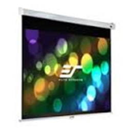 """Elite Screens 84"""" 16:10 Pull Down Screen Manual Srm Pro, Wall / Ceiling Mount - Slow Retraction"""
