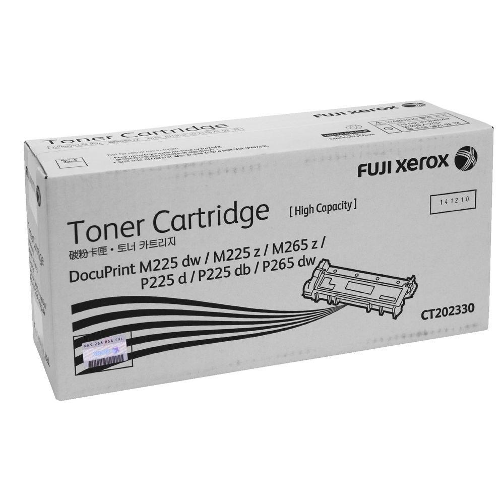 Fuji Xerox Original Toner Cartridge - Black