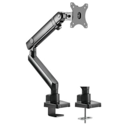 Brateck Single Monitor Aluminum Slim Mechanical Spring Monitor Arm For Most 17'-32'