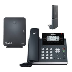 Yealink Yealiink (W41P) Dect Desk Phone W41P Is A Package Of T41S, W60B And Dect Dongle DD10K