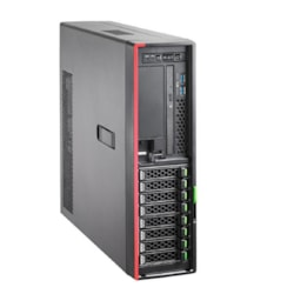 "Fujitsu Primergy TX1320M4, SFF, Red Psu, E-2236 6C/12T 3.3GHz, 16GB Ram (1/4), 2.5"" Sas/Sata (0/8), DVD-RW, EP420i, TFM, Fbu, Irmc, 450W (1/2), 1YR"