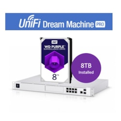 Ubiquiti UniFi Dream Machine Pro Enterprise Security Gateway & Network Appliance – Includes WD 8Tb HDD Pre-Installed