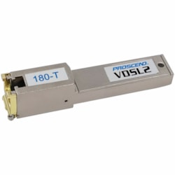 Ubiquiti Proscend VDSL2 SFP Modem For Telco, Supports All VDSL2 Profiles, Suitable For -20°C To 75°C Temperature Range, Suitable For Ubiquiti, Mikrotik + More