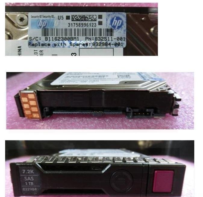 "HPE 1 TB Hard Drive - 2.5"" Internal - SAS (12Gb/s SAS)"