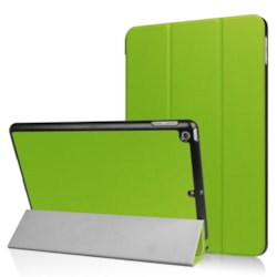 Casual Solid Suede Leather Cases for Apple iPad 9.7 6th 2018/2017 Tablet Case green