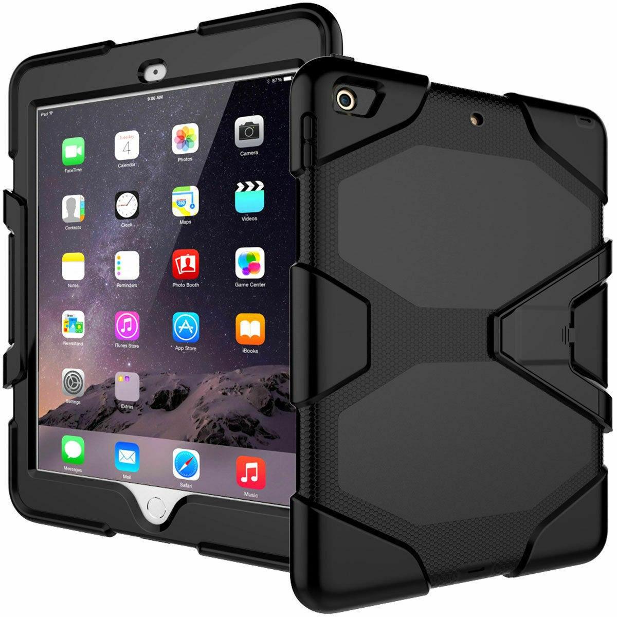 Rugged Case for iPad 6th Gen 9.7 black