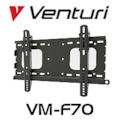 EzyMount VM-F70 Fixed Wall Bracket (TV Size 26'-46')