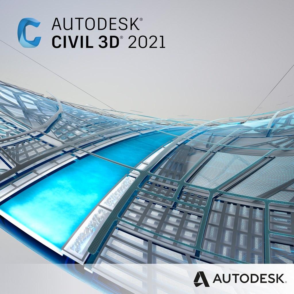 Autodesk Civil 3D 2021 - Subscription - 1 User - 1 Year