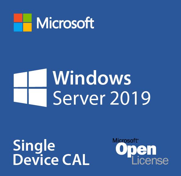 Microsoft Windows Server 2019 - License - 1 Device CAL