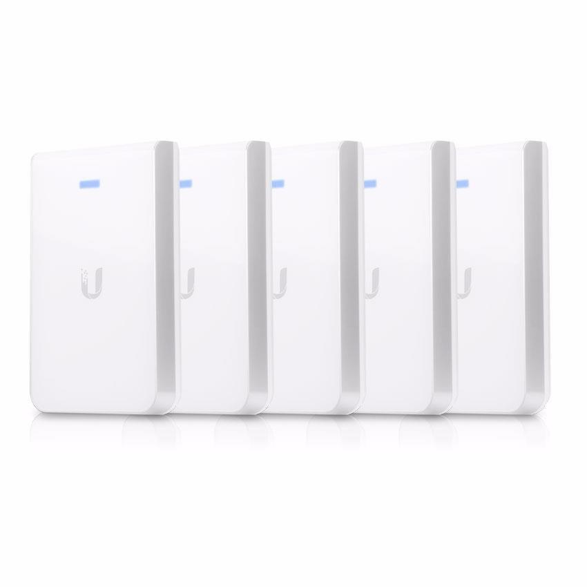 Ubiquiti UniFi 802.11Ac In-Wall WiFi Access Point - Pack Of 5 Uap-Ac-Iw-5