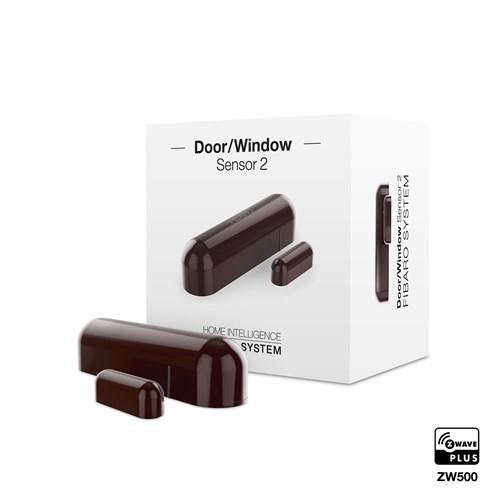 Fibaro Z-Wave Door Sensor Dark Brown