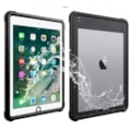 """V-Series V2 Waterproof/ Dust Proof Protective Case For iPad Air 1/ iPad 9.7"""" 2017/ 2018 - Black/ Clear"""