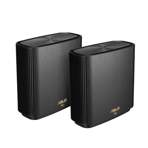 Asus Zenwifi XT8 Ax6600 Wifi 6 Tri-Band Whole-Home MeshRouters Black Colour (2 Pack)