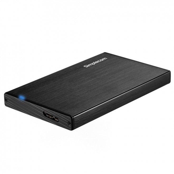 Simplecom Se212 Aluminium Slim 2.5'' Sata To Usb 3.0 HDD Enclosure