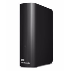 Western Digital WD Elements Desktop 2TB Usb 3.0 3.5' External Hard Drive - Black Plug & Play Formatted NTFS For Windows 10/8.1/7