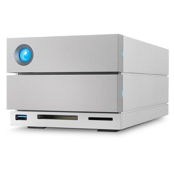 LaCie 2big Dock STGB20000400 2 x Total Bays DAS Storage System - Desktop