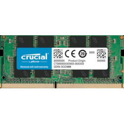 Micron Crucial 8GB (1x8GB) DDR4 Sodimm 2666MHz CL19 Single Ranked Notebook Laptop Memory Ram Basic Bulk Pack